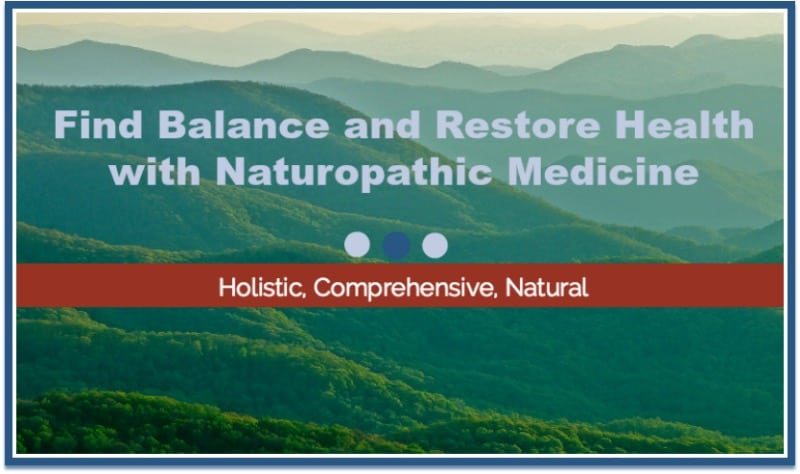 Find Balance and Restore Health