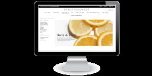 Beautycounter Website